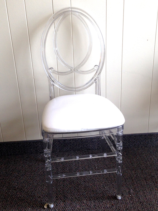CLEAR PHOENIX CHAIR